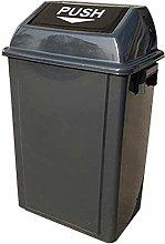 JUIO Trash Bin Solid Color Dustbin, Thicken