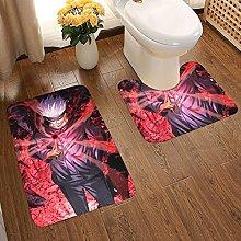 Jujutsu Kaisen Soft Flannel Floor Mats Carpets