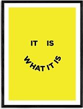 Julia Walck - 'It Is What It Is' Framed