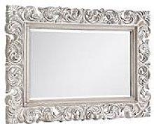Julian Bowen Baroque Distressed Wall Mirror