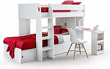 Julian Bowen Eclipse Bunk Bed & 2 Platinum