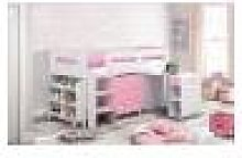 Julian Bowen Kimbo Cabin Bed - Pink