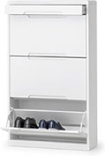 Julian Bowen Manhattan Shoe Cabinet with Drawer