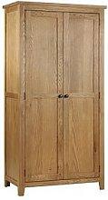 Julian Bowen Marlborough 2 Door Solid Oak/Oak