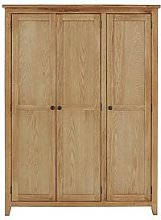 Julian Bowen Marlborough 3 Door Wardrobe With