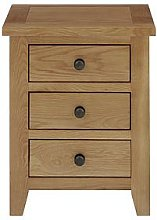Julian Bowen Marlborough Ready Assembled 3 Drawer