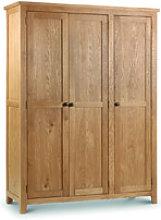 Julian Bowen Marlborough Wardrobe - 3 Door
