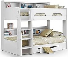 Julian Bowen Riley Bunk Bed With Shelves And