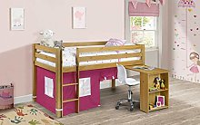 Julian Bowen Wendy Midsleeper & Pink Tent, Pine,