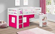 Julian Bowen Wendy Midsleeper & Pink Tent, White,
