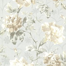 Juliana Floral 10m x 52cm Wallpaper Roll Lily Manor