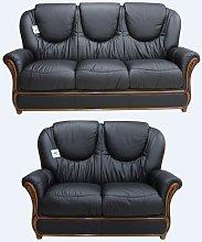 Juliet Genuine Italian Leather 3+2 Seater Sofa