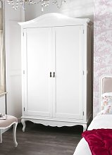 Juliette Shabby Chic Antique White Double