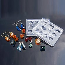 Julz Beads 1 Mixed Cabochon Resin Casting Silicone