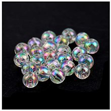 Julz Beads 200 Clear Acrylic Round - 6mm
