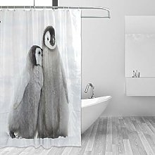 JUMPBEAR 72 * 72 Shower Curtain One-sided printing