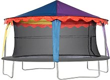 Jumpking - 14ft x 17ft Oval Circus Tent Canopy