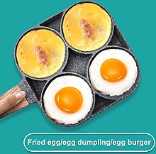 Junean Fried Egg Pan, Aluminum 4-Cup Egg Frying