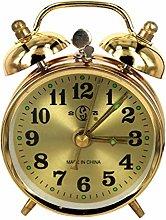 junfeng Alarm clock Mechanical Gold Alarm Clock