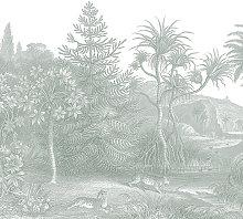 Jungle Land Verdant Wallpaper (SqM)