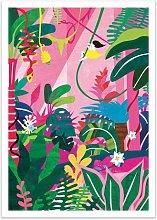 Jungle Paper Print Bay Isle Home