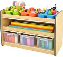 Junior Arts And Craft Storage Unit With 2 Shelves,