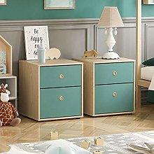 Junior Vida Neptune 2 Drawer Bedside Table Cabinet
