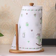 JUNLILIN Tissue Dispenser Bamboo Bathroom Paper