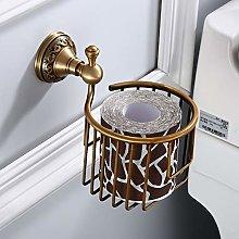 JUNLILIN Tissue Dispenser Wall Mounted Brass