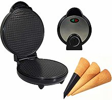 Junlinto,Round Nonstick Electric Stroopwafel Syrup