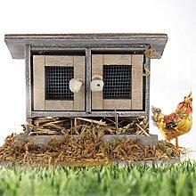 Junluck Lightweight Durable Dollhouse Chicken