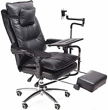 JUNQI Gaming Chair Office Desk Chair Ergonomic