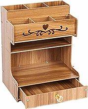 JUNQI Large Capacity Office Storage Box,