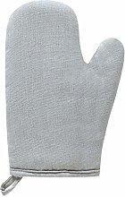 juntao Solid Color Heat Resistant Glove Cotton