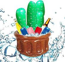 Junxcj Beverage Cooler Inflatable, Cactus Beverage