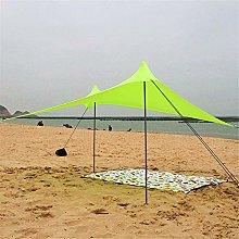 JUNYYANG Family Tent Instant Cabana Canopy Sunwall