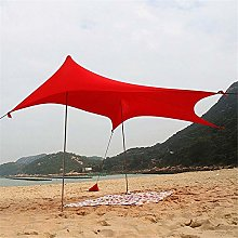 JUNYYANG Family Tent UV Protection Beach Tent