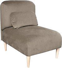 Jupi Chair Bed Happy Barok Upholstery: Brown