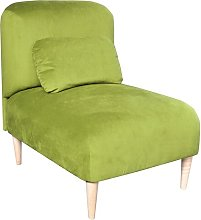Jupi Chair Bed Happy Barok Upholstery: Lime