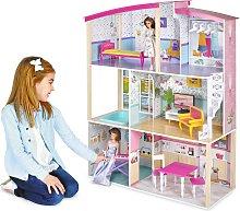 Jupiter Workshops Modern 3 Storey Doll House
