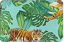 Jupsero Bathroom Rugs Bath Mat - Tigers in