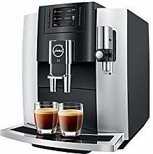 JURA E8 Chroom Freestanding Espresso Machine 1.9 L