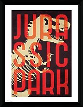 Jurassic Park Framed Print Wall Art