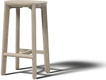 Juro 65cm Bar Stool JAVORINA Colour: White