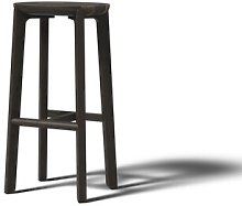 Juro 75cm Bar Stool JAVORINA Colour: Coffee