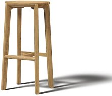 Juro 75cm Bar Stool JAVORINA Colour: Natural