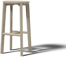 Juro 75cm Bar Stool JAVORINA Colour: White