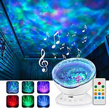Jusale Ocean Wave Projector Baby Night Light with