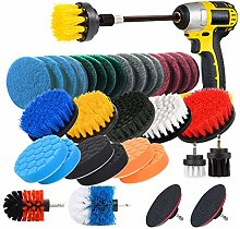 JUSONEY Drill Brush Scrub Pads 8 Piece Power