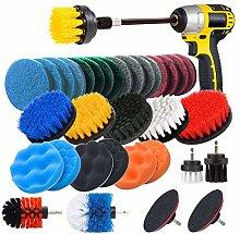 JUSONEY Drill Brush Scrub Pads 8 Piece Power